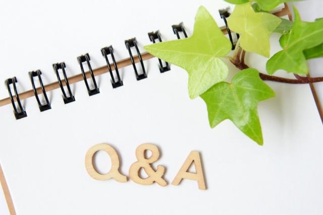 List of Q & A